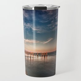 Light on the dike Travel Mug