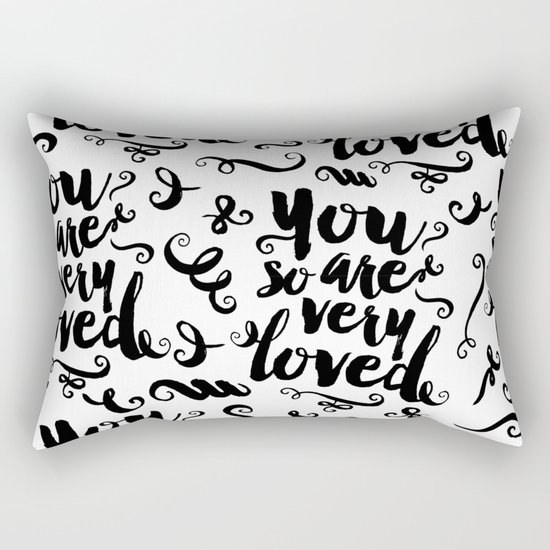 You Are So Very Loved Rectangular Pillow