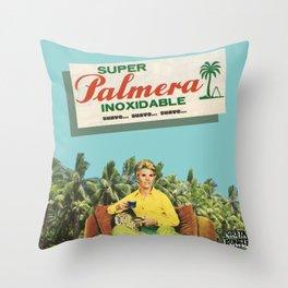 Super Palmera Throw Pillow