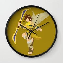 Pit(Smash)Gold Wall Clock