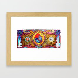 Love Currency Framed Art Print