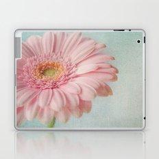 Aqua Gerbera Laptop & iPad Skin