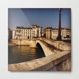 Bridges of Paris - Ile Saint Louis Metal Print