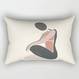 Woman Form I Rectangular Pillow
