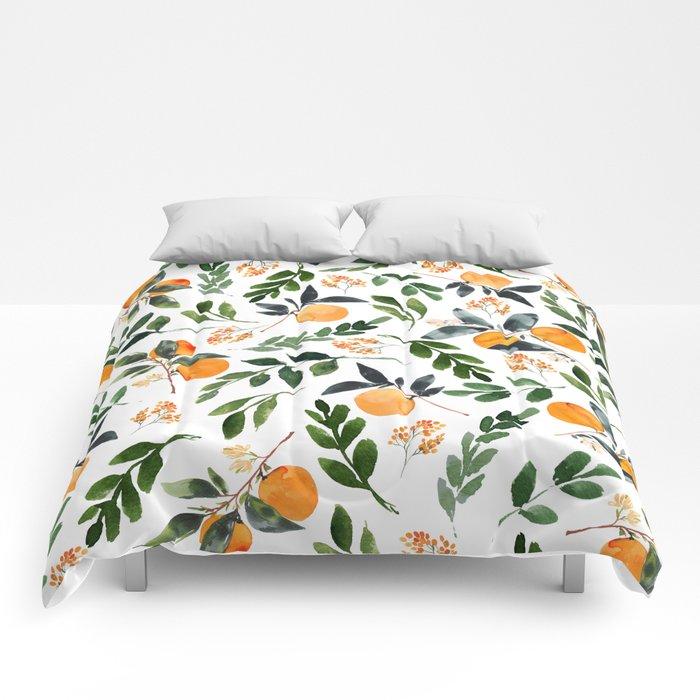 Orange Grove Comforters