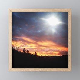 Sunset Extraordinaire Framed Mini Art Print