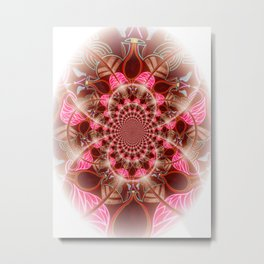 Pinkfinity Metal Print