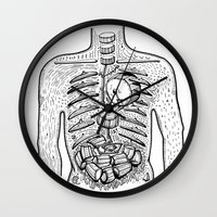 drums Wall Clocks featuring in drums by nuba