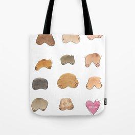 boob palette Tote Bag