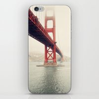 san francisco iPhone & iPod Skins featuring San Francisco  by Bree Madden