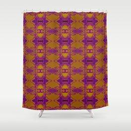Purple lace Shower Curtain