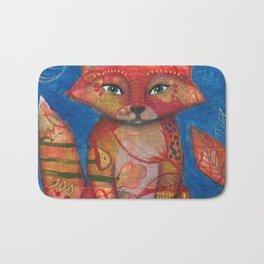 Autumn Fox Bath Mat