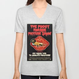 Puggy Horror Unisex V-Neck