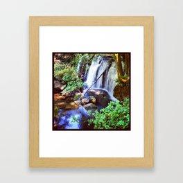 Whatcom Falls Framed Art Print