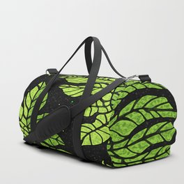 Graphic leaves Duffle Bag