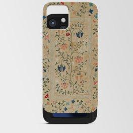 Uzbekistan Suzani Nim Embroidery Print iPhone Card Case