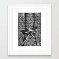 fries Framed Art Prints featuring Fries by AsoMohammadi