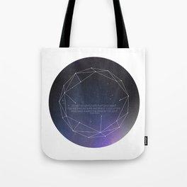 Light (Constellation) Tote Bag