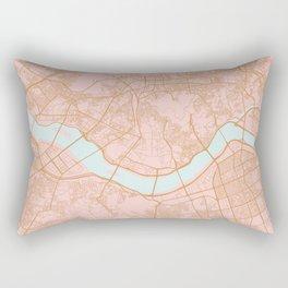 Seoul map Rectangular Pillow