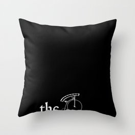 the prisoner Throw Pillow