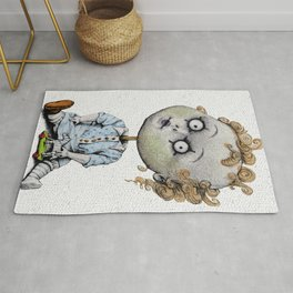 The Zombie Games (boy) Rug