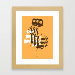 A 60s Catwalk Framed Art Print