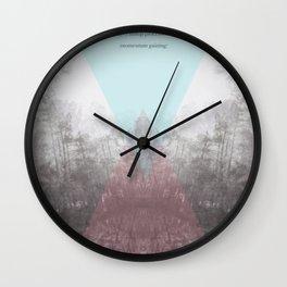 Hilltop Procession (ANALOG zine) Wall Clock