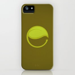 East Leaf Lake iPhone Case