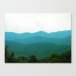 The Blue Ridge Canvas Print