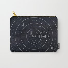 Planets symbols solar system Carry-All Pouch