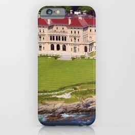 Newport, Rhode Island Mansions - The Breakers - by Jeanpaul Ferro iPhone Case
