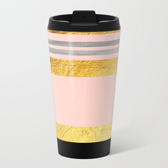Minimal Complexity III Metal Travel Mug