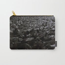 Black Steel Carry-All Pouch
