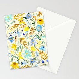 SUMMERTIME FLORAL Stationery Cards