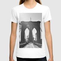 brooklyn bridge T-shirts featuring Brooklyn Bridge by Aperture