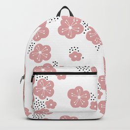 Hello spring Japanese cherry blossom love pink Backpack