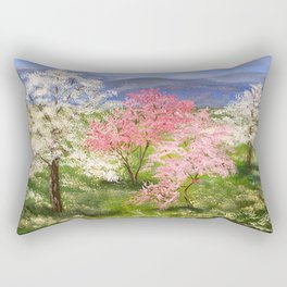 Springtime in Tennessee Rectangular Pillow
