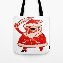 Pirate Santa Tote Bag
