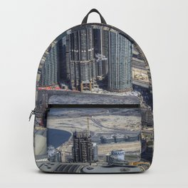 Dubai From The Air Backpack
