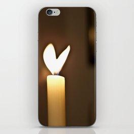 Love candel iPhone Skin
