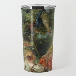 "François Boucher ""The Picking of Cherries (La Cueillette des Cerises)"" Travel Mug"