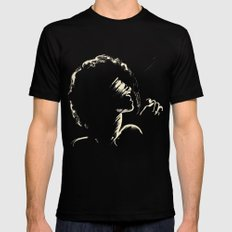 Melodious Imprints Black LARGE Mens Fitted Tee
