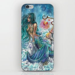 Witch of the oceans iPhone Skin
