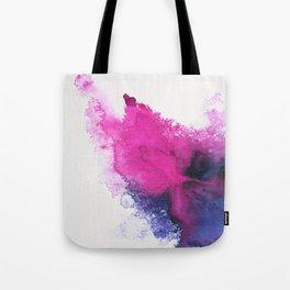 Watercolour splash Tote Bag