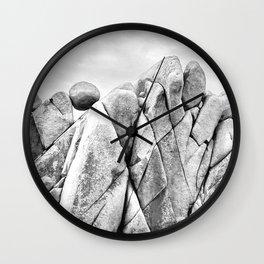 Joshua Tree Landscape Wall Clock
