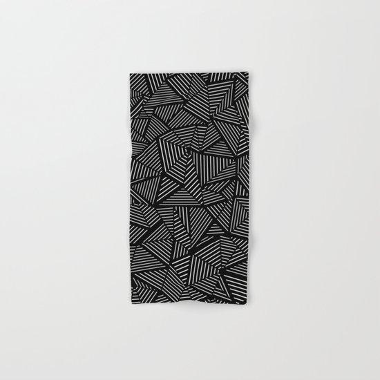 Abstraction Linear Hand & Bath Towel