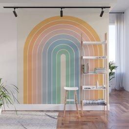 Gradient Arch - Rainbow III Wall Mural