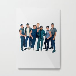 The Outsiders movie Metal Print