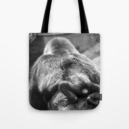 Gorillas baby Tote Bag