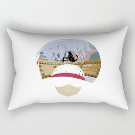 Luffy VS Doflamingo Rectangular Pillow